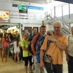 Check In na Zagrebškem letališču