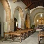 Notranjost taiste cerkve.