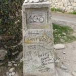 105 km je že za nami, še 100 jih imamo do Santiaga.