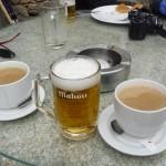 Čas za veliko pivo in res veliko kavo.