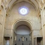 Še notranjost cerkve pogledamo.