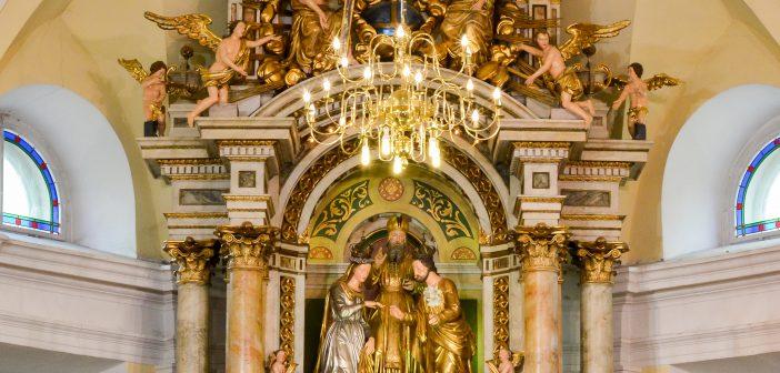 Celodnevno češčenje Najsvetejšega – zaroka Jožefa in Marije ter koncert Akademije za glasbo