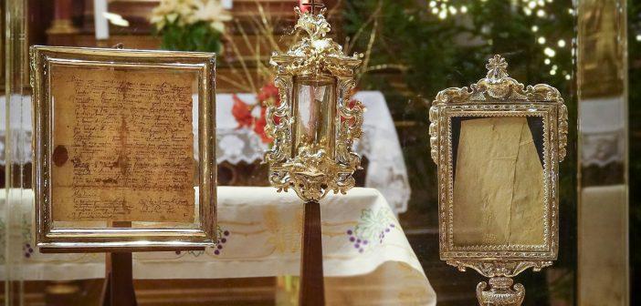 Ob relikvijah sv. Vincencija Pavelskega