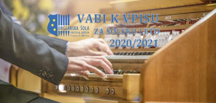 Orglarska šola vabi k vpisu