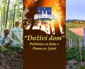 """Doživi dom"" – počitnice za dušo v Domu sv. Jožef"